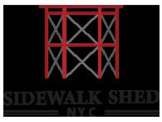 Sidewalk Shed NYC - 1/2
