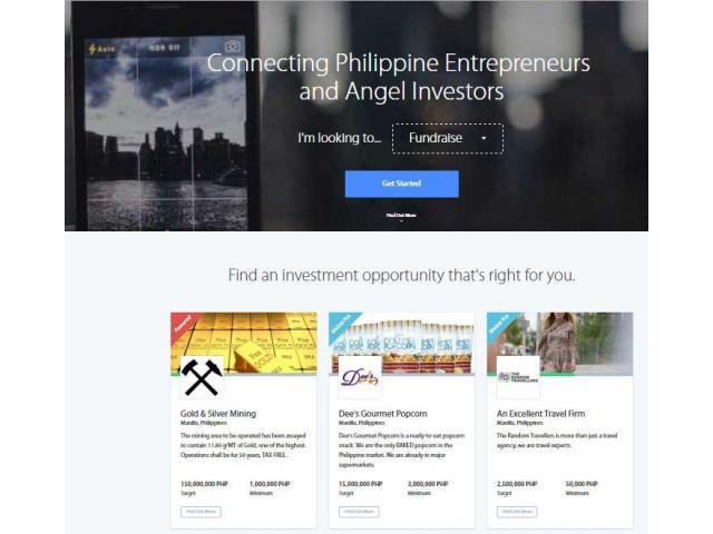 Find free service for investors in Philippines. - 1/3