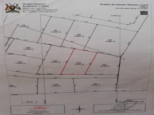 Plot In Namugongo Jjanda Zone - 1/1