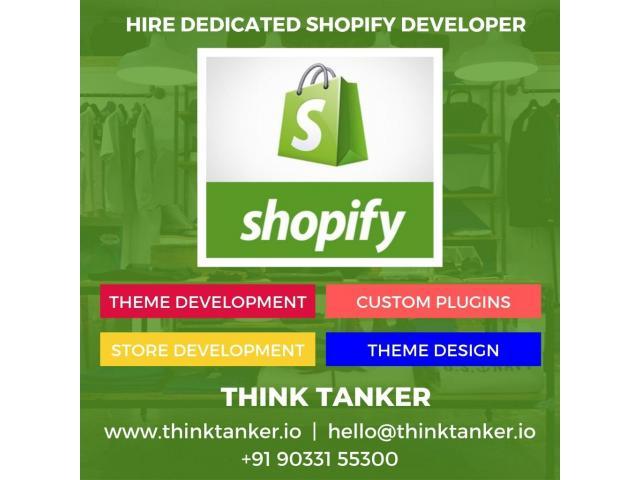 Top Shopify شركة التطوير الهند - THINKTANKER - 1/2