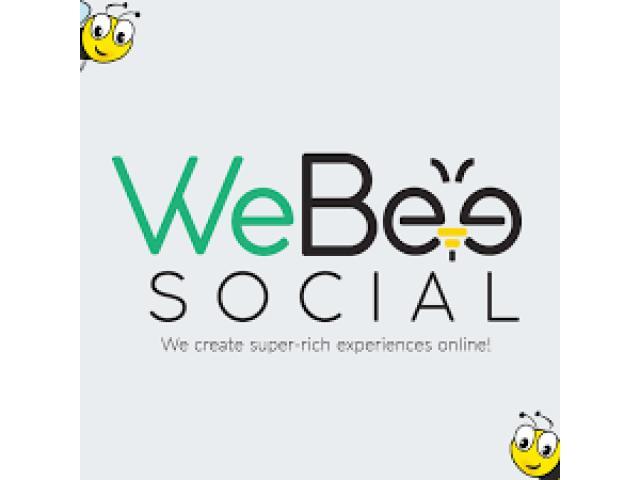 WeBeeSocial: Kreativní digitální agentura / marketingová společnost v Torontu - 1/1